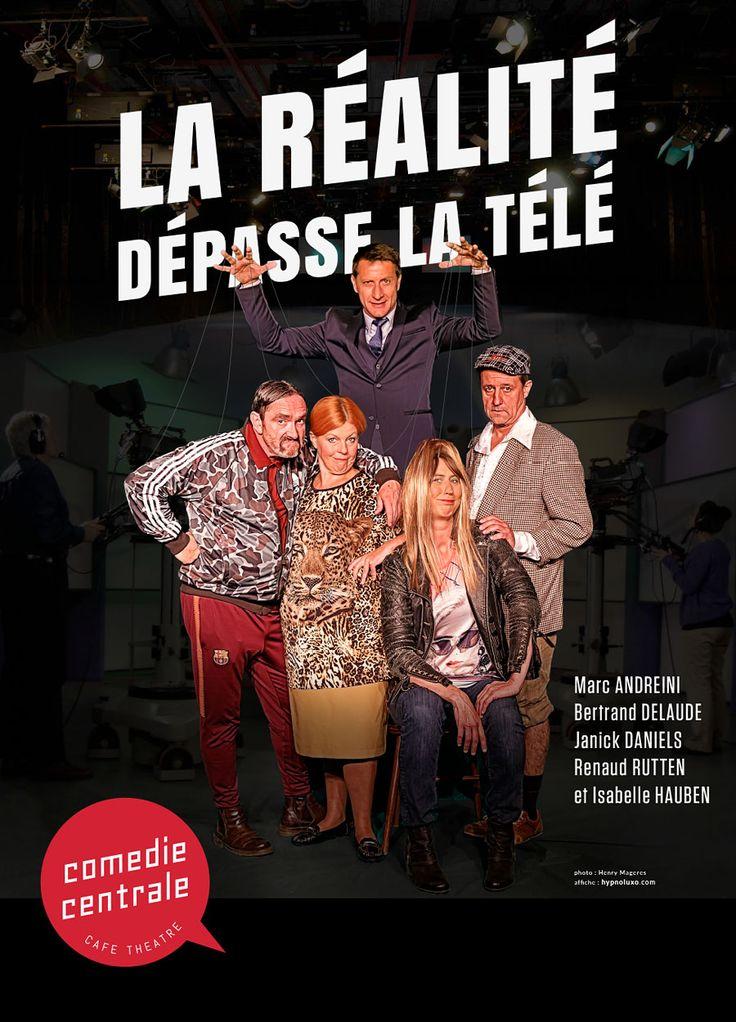 La Réalité Dépasse La Télé - de Renaud Rutten et Isabelle Auben