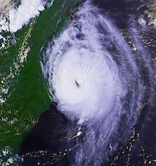 Hurricane Emily brushed the Outer Banks of North Carolina with strong winds, heavy rainfall, and rough seas. The sixth tropical cyclone, fifth named storm, and first hurricane of the 1993 Atlantic hurricane season, Emily developed from a tropical wave while located several hundred miles east-northeast of the Lesser Antilles on August 22.
