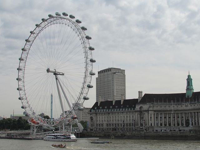 London Eye - This amazing and iconic feature of London is seen around the world on New Years Eve for the great firework display, it is one of the most famous places in London and it is a brilliant landmark to visit.