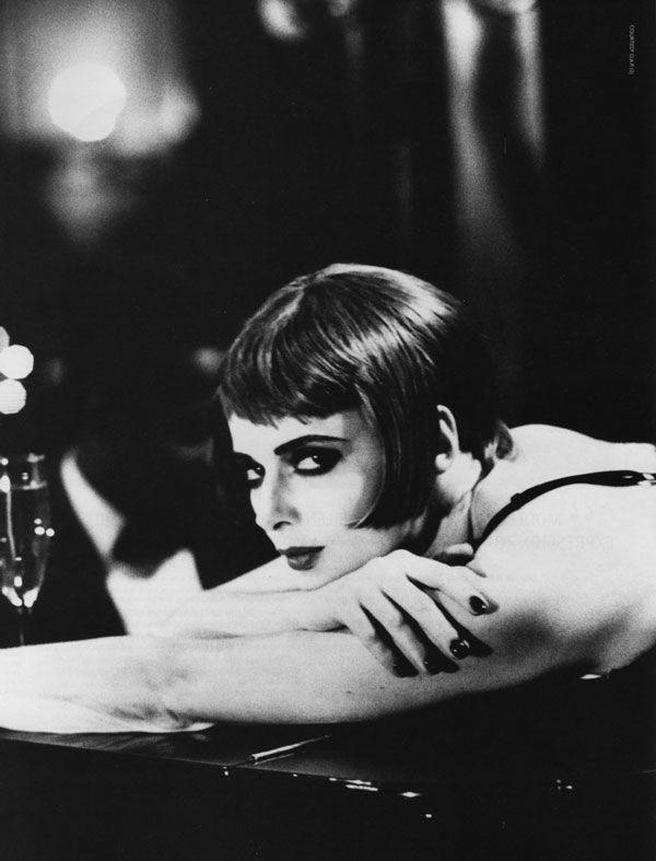 'Silent Star'  Vogue, January 1993.  Photographer: Ellen von Unwerth  Model: Isabella Rossellini.