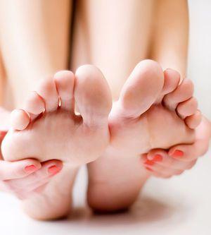 Feet in pain