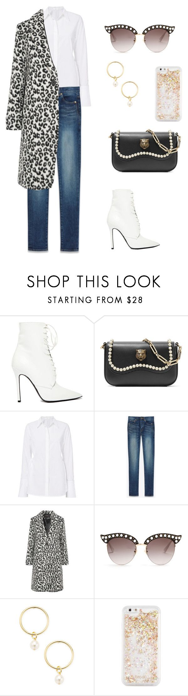 """""""Day off"""" by eva-dato on Polyvore featuring moda, Yang Li, Gucci, A.L.C., Yves Saint Laurent, Maje, Renvy y ban.do"""
