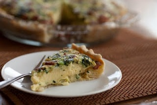 Dairy-free Quiche (used plain coconut milk instead of rice milk; added in nitrite-free ham, and a GF crust): Milk Allergy, Allergy Companion, Quiches, Food, Dairy Free Quiche, Dairyfree, Gluten Free, Quiche Recipes, Free Recipes