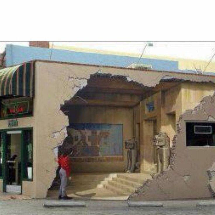 """We've been fascinated by artist John Pugh's work. This shot of a building in Los Gatos, California,…"""""""