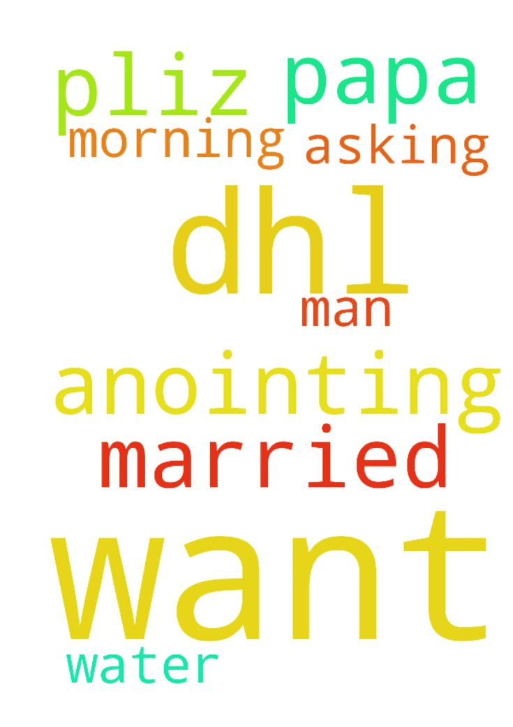My prayer request is that I want get to - My prayer request is that I want get to married please papa and Im asking for anointing morning water by DHL pliz man of God. Posted at: https://prayerrequest.com/t/TlF #pray #prayer #request #prayerrequest