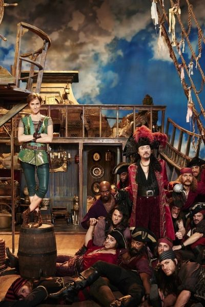 Photo Flash: First Look - Kelli O'Hara, Christian Borle & More in Costume for PETER PAN LIVE!