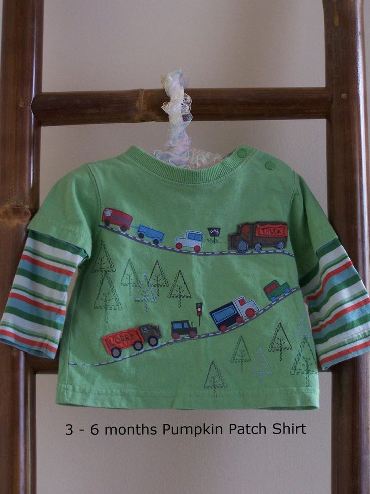 3 - 6 months Pumpkin Patch Shirt