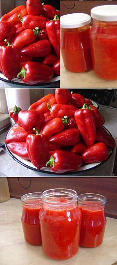 Приправа из красного перца (сырая!) : Болгарский перец