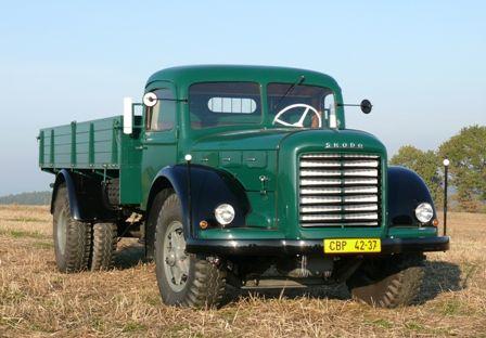 Škoda 706 R   Staré náklaďáky