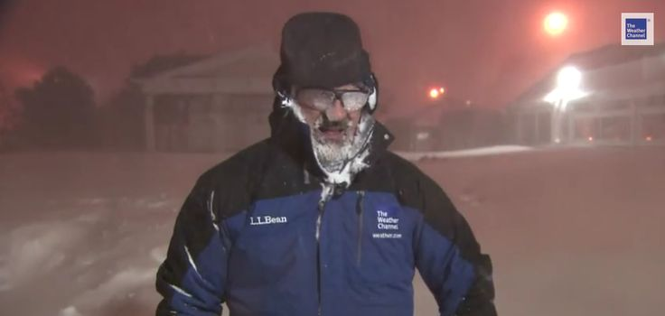 Weatherman Jim Cantore Really, Really Loves Thundersnow [Video]