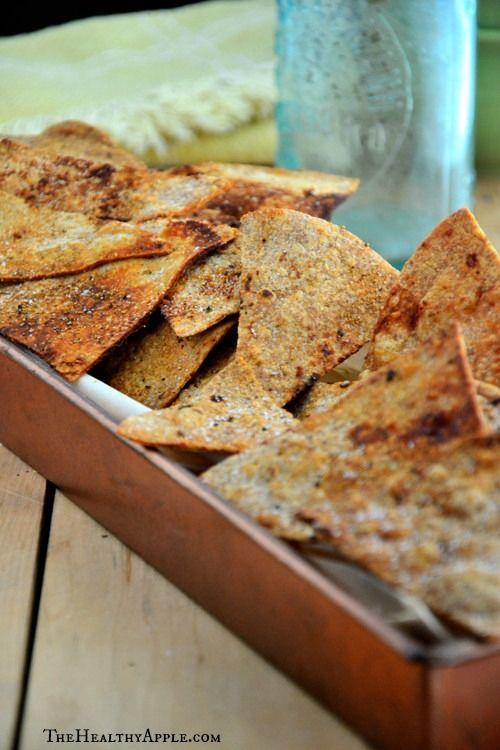 Gluten-Free Baked Cumin Tortilla Chips