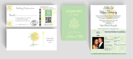 Partecipazioni tema viaggio passaporto. Wedding invitations travel theme. #wedding #wedding invitations