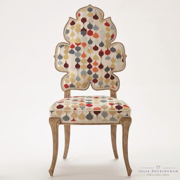 Global Views Wiggle Chair: Wiggle Dining Chair - Multi Raindrop In 2019