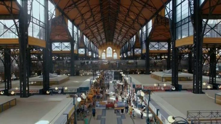 Central Market Hall - Budapest, Hungary  Budapesti Vásárcsarnok
