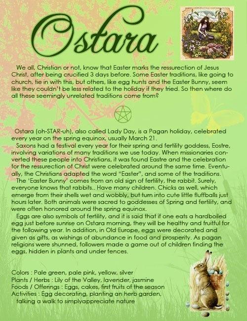 Ostara/ Spring Equinox