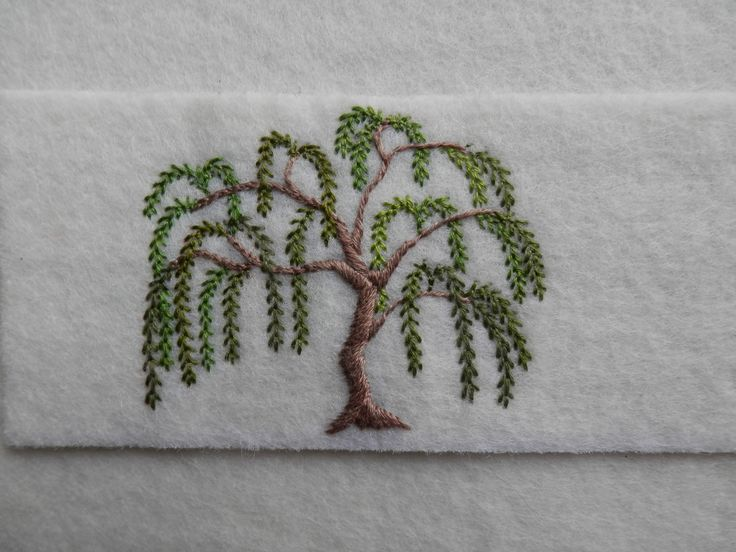 Embroidered Willow.