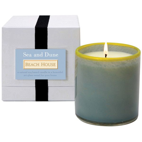 LAFCO Sea and Dune / Beach House Candle ($60) ❤ liked on Polyvore featuring home, home decor, candles & candleholders, ocean home decor, sea home decor, yellow candles, fragrance candles and yellow home accessories