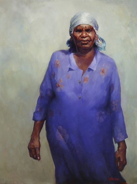 Favourite piece in 2009 Archibald Prize. http://www.artgallery.nsw.gov.au/prizes/archibald/2009/