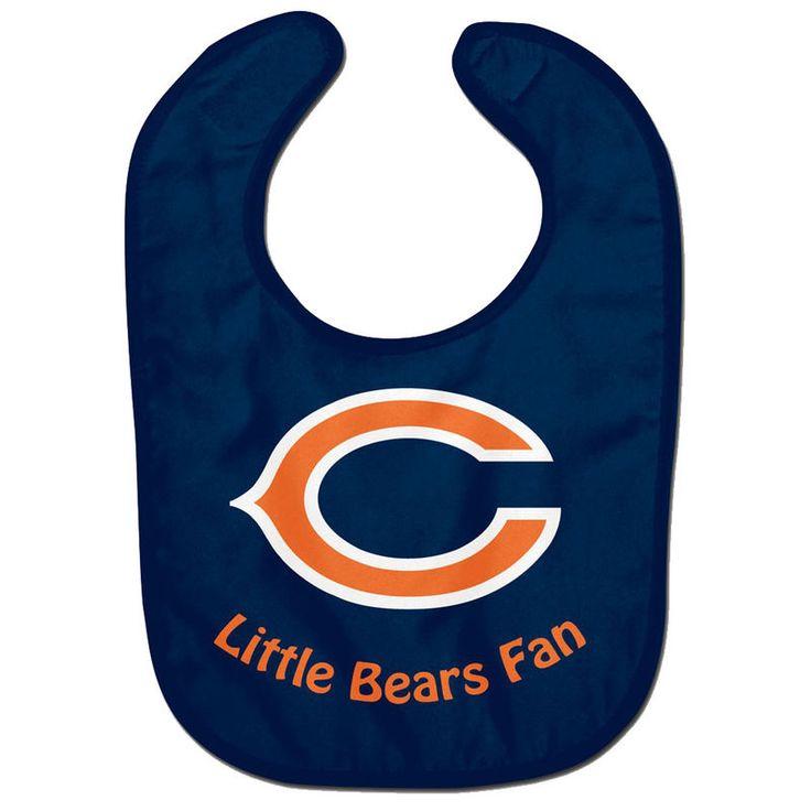 Chicago Bears WinCraft Infant Lil Fan All Pro Baby Bib