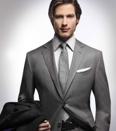 16 best images about Grey Suits on Pinterest | Groomsmen suits ...