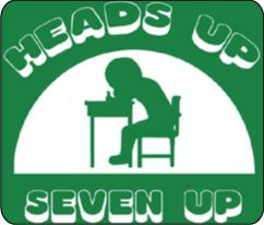 Heads up Seven up...the one who tapped you wouldn't make eye contact when you stood up to guess.