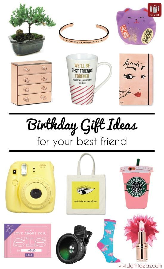 List Of 17 Birthday Gifts For Best Friend Cute Sentimental Friendship