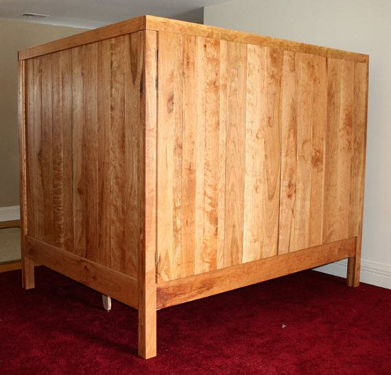 Enclosed Bed with doors on both sides by SolidCherryHeirlooms, $2555.00 Beccs