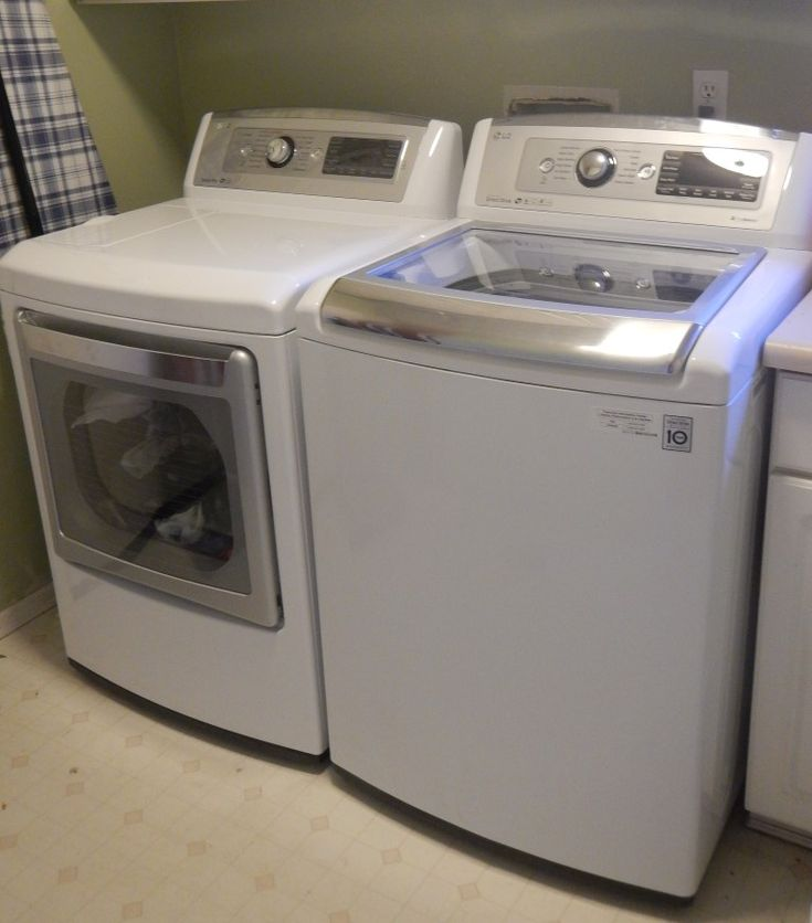LG Washer and Dryer set- recommendation from a happy consumer!