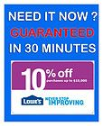 FIVE (5x) Lowes 10% Coupons APRIL 24, 2014 ! (PRINTABLE) FAST DELIVERY - *FAST, 2014, April, COUPONS, Delivery, Five, LOWES, PRINTABLE