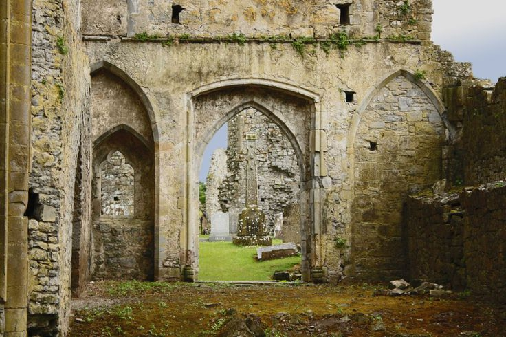 Athassel Abbey, Golden, Tipperary | Queen Of Pots - Athassel Abbey is probably one of the most impressive ruins.Covering nearly four acres it is the biggest medieval priory in Ireland and was built in the late 12th century. It burnt down in 1447 and the monastery was dissolved in the 1500s.