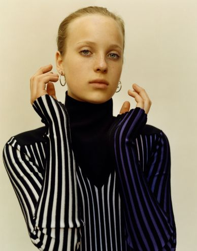 MAP - News – Jamie Hawkesworth Shoots AW14 Fashion for Self Service