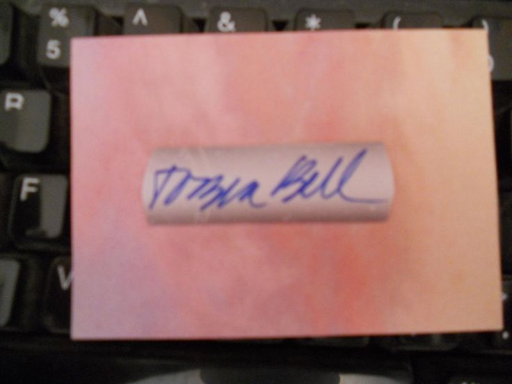 TOBIN BELL- JIGSAW- SAW  HORROR MOVIES- AUTOGRAPHED SIGNED CUT