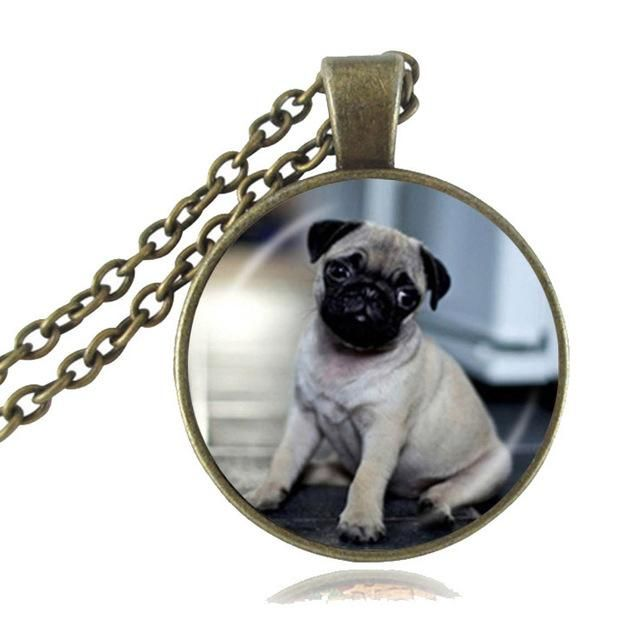 Adorable Puggie Necklace