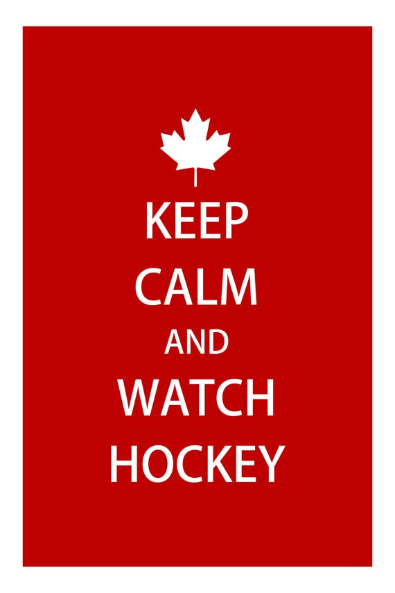 I find it odd that there is a maple leaf on this, considering how there are hockey fans all over the world, not just in Canada.
