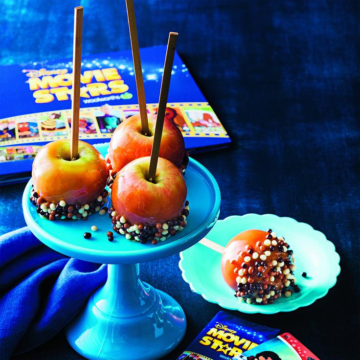 Snow White Caramelised Apples are a fun treat for the whole family. #SnowWhite #Caramelised #Apple #CookingWithKids #Disney