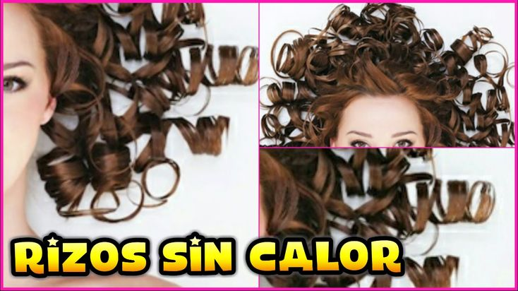 RIZAR TU CABELLO SIN CALOR ♥♥♥ CURL YOUR HAIR WITHOUT HEAT ♥♥♥ Andy Lo