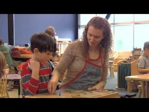 Video showing Montessori 0-3, 3-6 and 6-12 environments. Association Montessori Internationale