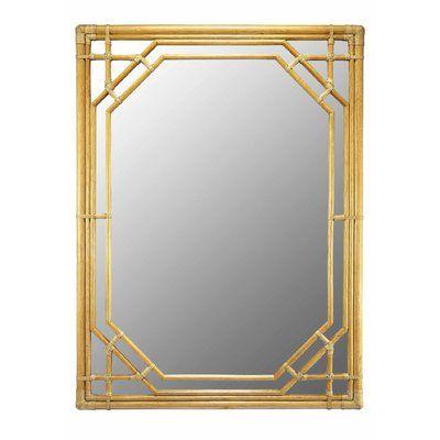 Photo of Selamat Designs Regeant Rectangular Accent Wall Mirror Finish: Nutmeg