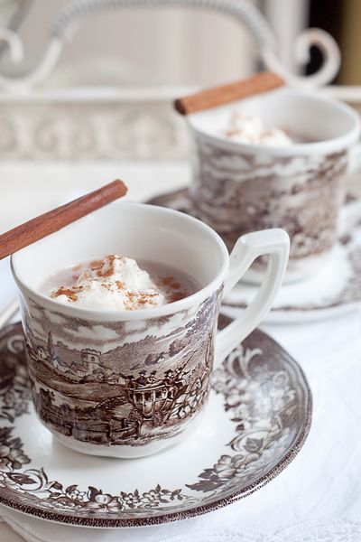 Spiced Hot Cocoa from @Lana Stuart | Never Enough Thyme http://www.lanascooking.com/2012/11/06/spiced-hot-cocoa-for-election-day/