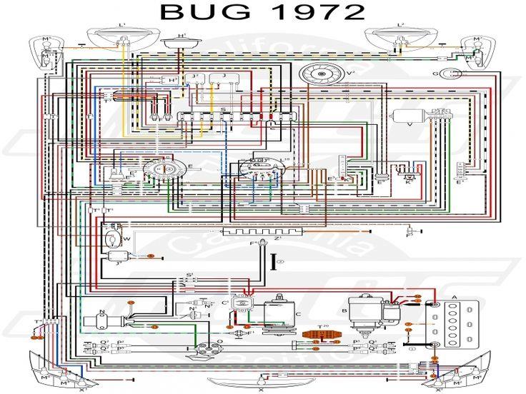 Vw Tech Article 1972 Wiring Diagram - Wiring Forums | Vw ...