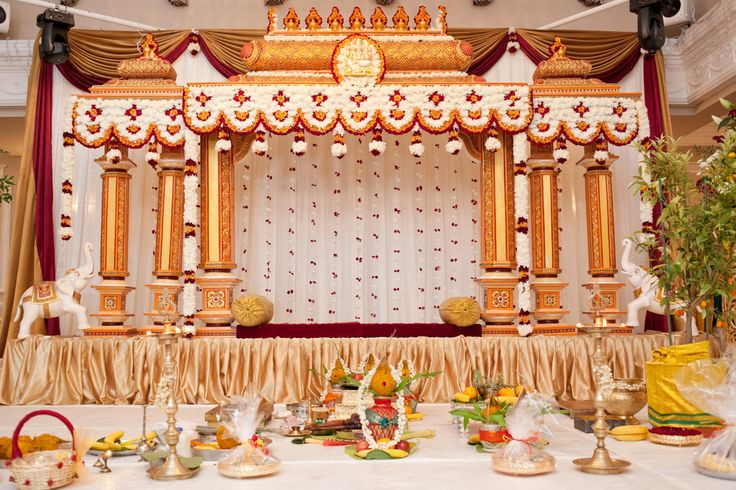 Wedding tamil hindu manavarai designs google search for Background decoration for indian wedding