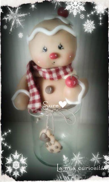 Gingerbread, porcelana fría, Navidad