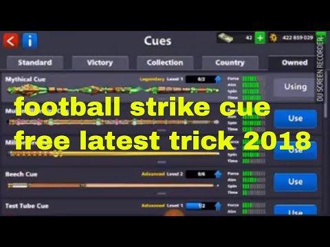 How to get the football strike cue trick 2018 8 ball pool miniclip - Sari Info