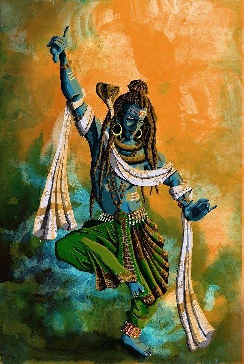 lord shiva dancing.