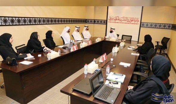 وفد من مجلس دبي للشباب يزور دائرة الموارد البشرية لحكومة دبي أكد سعادة عبد الله علي بن زايد الفلاسي مدير عام Home Decor Conference Room Conference Room Table