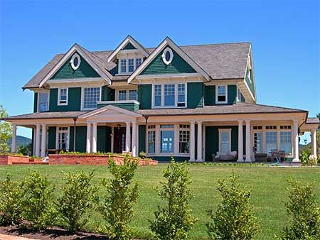 Plan W69078AM: Luxury, Farmhouse, Traditional, Photo Gallery, Premium Collection, Corner Lot, Country House Plans & Home Designs