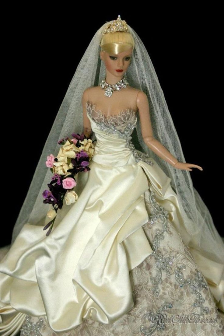 dolls on pinterest barbie barbie wedding and barbie wedding dress