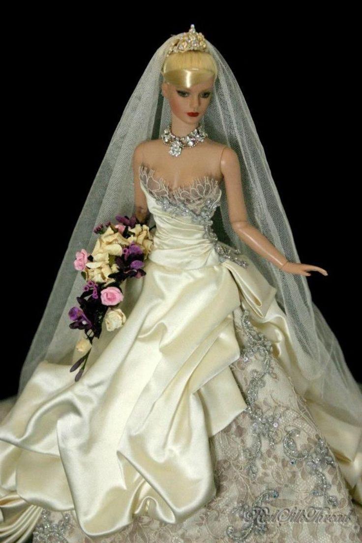dolls on pinterest barbie barbie wedding and barbie wedding dress