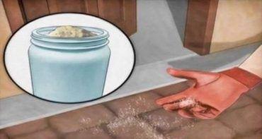 Szórjunk szét sót a konyhapadlón! Elképesztő hatása van, ezt te is ki kell próbáld!