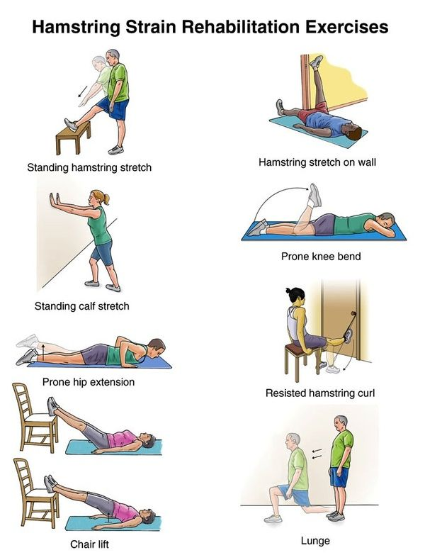 how to help a pulled hamstring